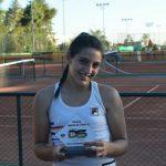 Tenista de Nova Odessa é vice-campeã em torneio da Federação Paulista de Tênis