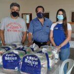 Solidariedade: Acias faz entrega de alimentos para entidades de Sumaré